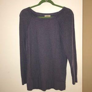 Loft Grape Sweater